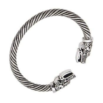 Bracelet tête de loup  1