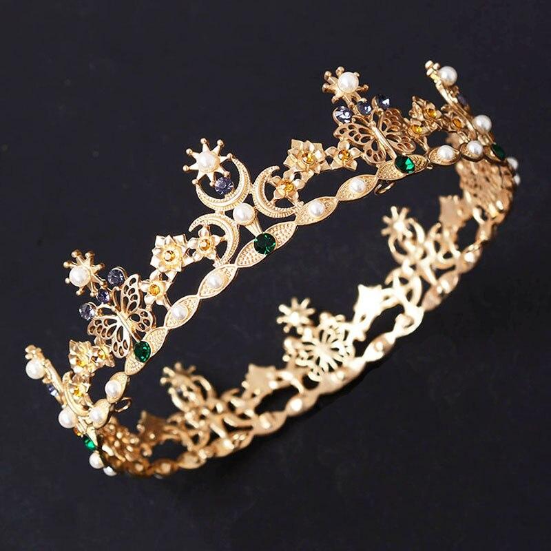 Snuoy Հարսանյաց Tiaras և Crowns կանանց համար - Նորաձև զարդեր - Լուսանկար 2