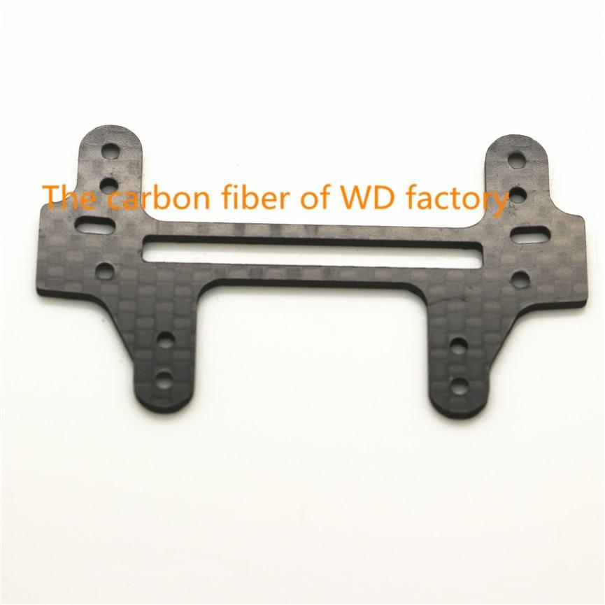 RFDTYGR МИНИ 4WD 1.5mm въглеродни влакна широк заден панел обичай части за Tamiya MINI 4WD въглеродни влакна широка задна плоча C005 2бр / лот