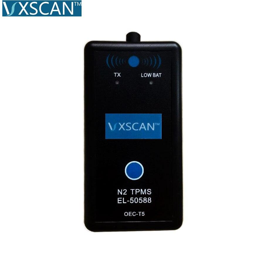 VXSCAN EL-50588 EL50588 TPMS Relearn Actrivation Reset Tool Auto Tire Pressure For CHEVROLET the same as EL-50448 EL50448(China)