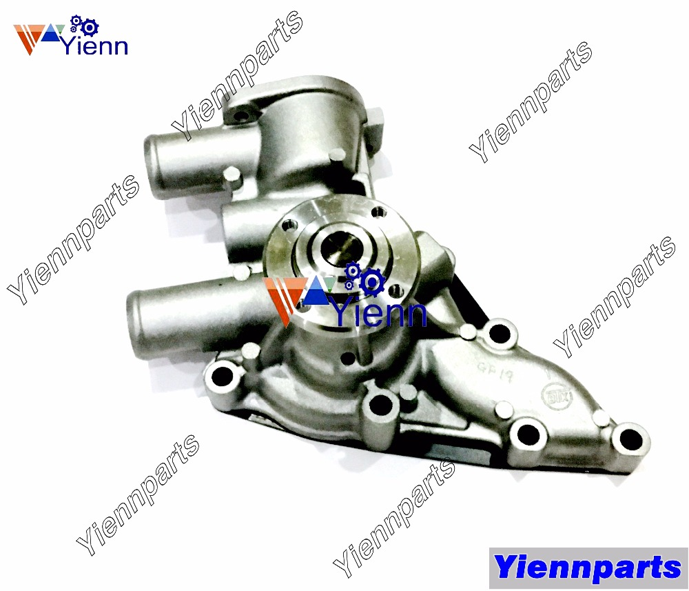 For ISUZU Engine 3KR1 New Water Pump 8-97069-390-0 Fit SUMITOMO S90 S90FX  Midi Excavators 3KR1 Diesel Engine Parts