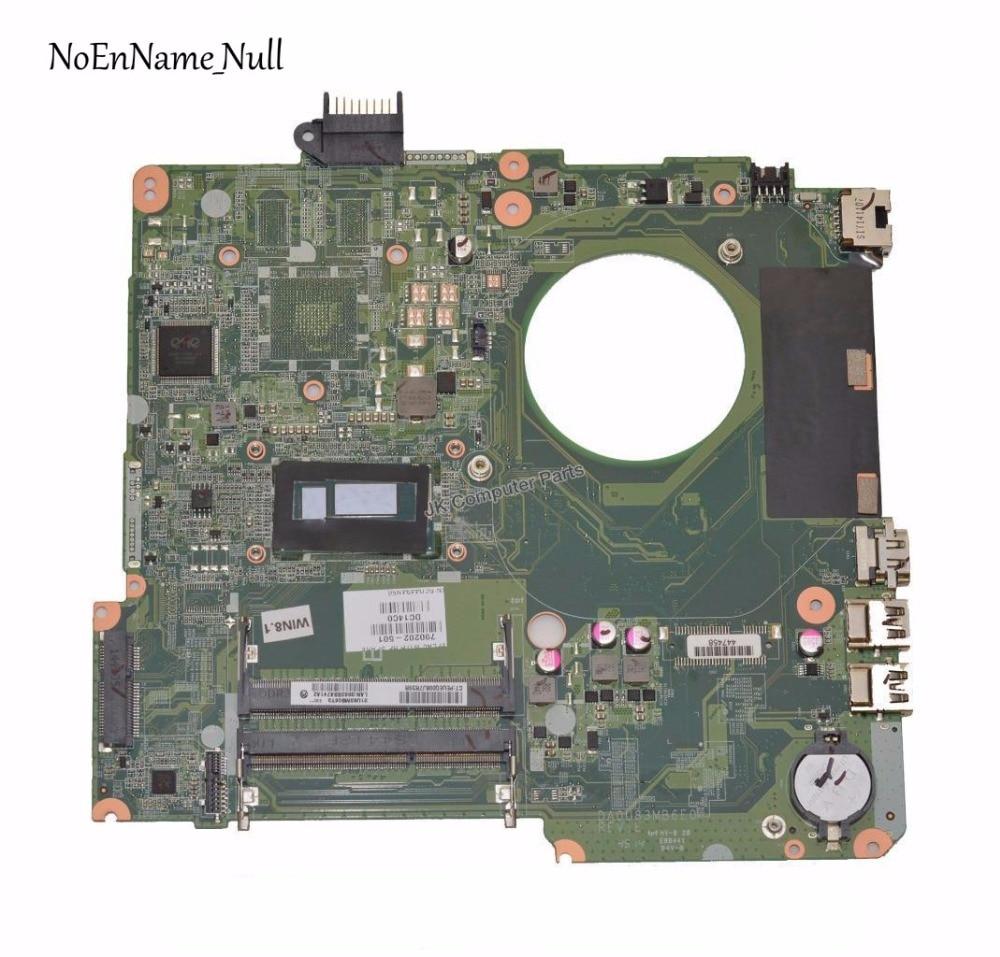 790202-501 790202-001 DA0U83MB6E0 UMA W I3-4030U CPU Laptop Motherboard For HP Pavilion 15-F018DX 15-F019DX 15-F Motherboard