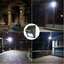 30 48 LED PIR Motion Sensor Rechargeable Solar Light Outdoor IP65 Waterproof