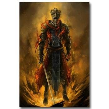 Шелковый Плакат Гобелен Dark Souls Вариант 6