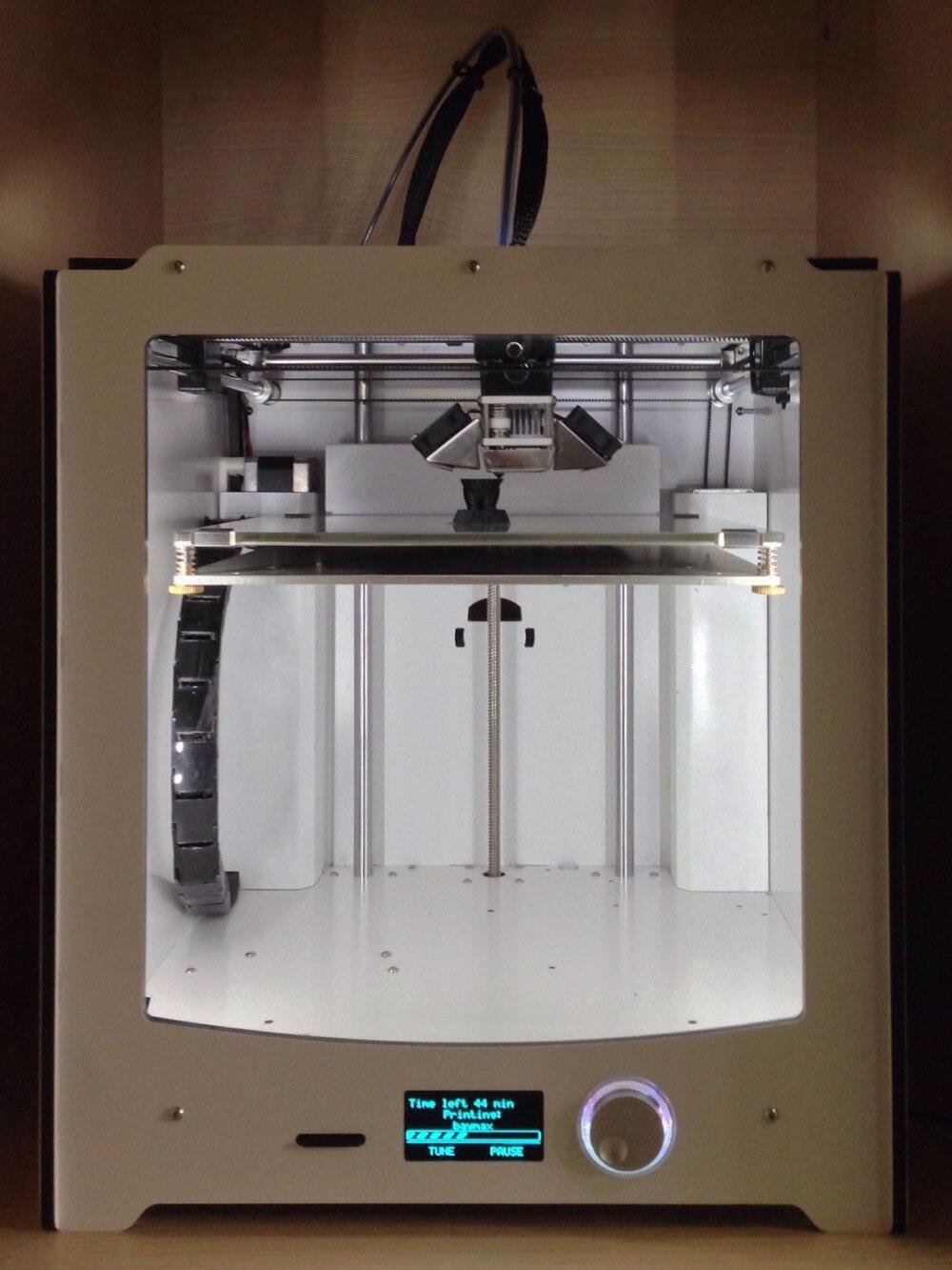 Bricolage UM2 Ultimaker 2 imprimante 3D bricolage kit complet/ensemble (pas assembler) Ultimaker2 singile buses imprimante 3D