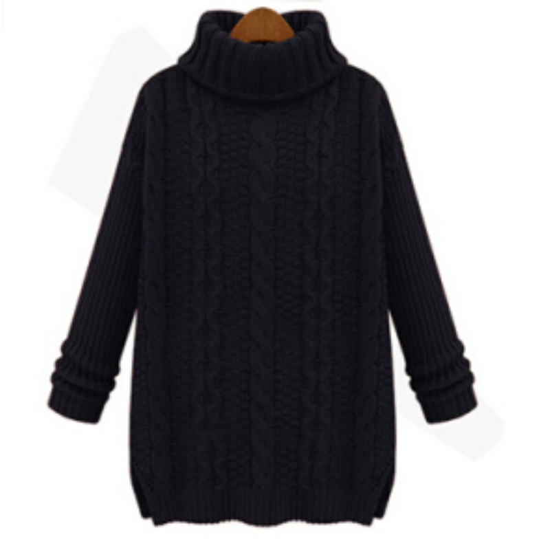 Want Wool Knitted Women Sweaters And Pullovers 2015 Hot Oversized ...