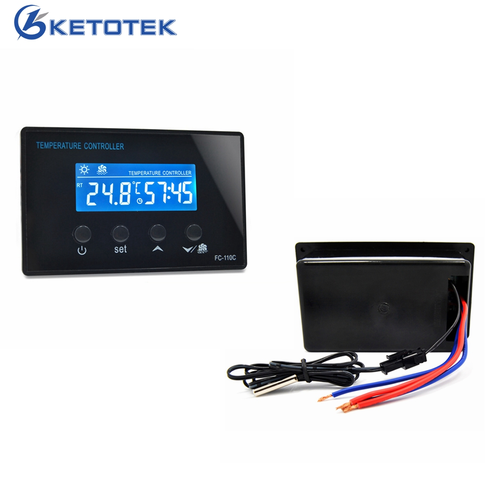 18-65C Digital Thermostat Regulator with Timer Time Countdown Function for Sauna Steam Room Temperature Controller Relay Output цена 2017