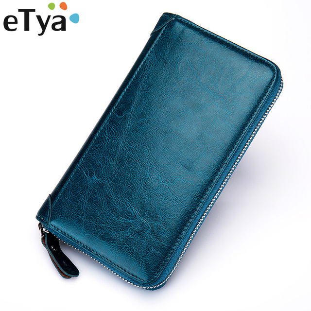 60 slots genuine leather women business card holder men id credit card casebank card - Business Card Holder For Men