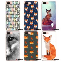 For Sony Xperia Z Z1 Z2 Z3 Z5 compact M2 M4 M5 C4 E3 T3 XA Huawei Mate 7 8 Y3II Silicone Phone Bag Case Animal More Cute Fox cat(China)