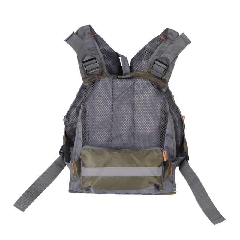 2018 новый жилет для нахлыстовой рыбалки рюкзак и жилет комбо армейский зеленый рыболовный жилет Летающая одежда для рыбалки