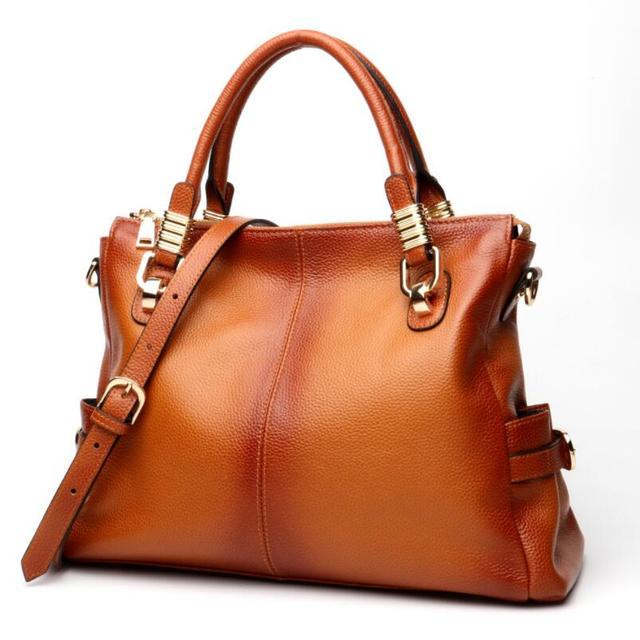 Women's Luxury Genuine Leather Handbag / Shoulder Bag