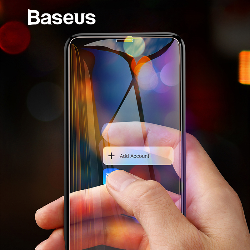 Baseus 0.3mm Full Coverage Screen Protector For iPhone XS MA
