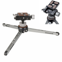 Ulanzi Compact Aluminum Alloy Tabletop Tripod Flexible Camera Holder With 360 Degree Rotated Ballhead For Canon/Nikon DSLR