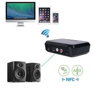 Image 3 - Vikefon Bluetooth Ontvanger Nfc/Usb Disk Muziek Lezen Stereo Draadloze Adapter 3.5Mm Aux/Rca Auto Speaker Bluetooth audio Ontvanger