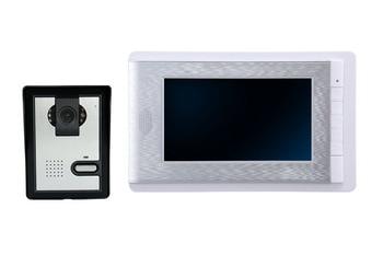 7 Inch TFT Monitor Wired Intercom  System Video Doorbell