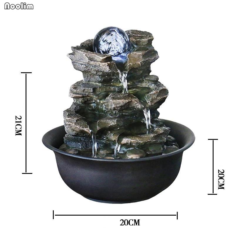Relaxus Decor Schreibtisch Tantrische Elefant Wasserloch Zimmerbrunnen/ /Wasser