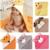 Luvable Amigos Forma bonito do animal do bebê com capuz de banho Toalha de banho do bebê Cobertores Neonatal Segure ser crianças infantil de banho