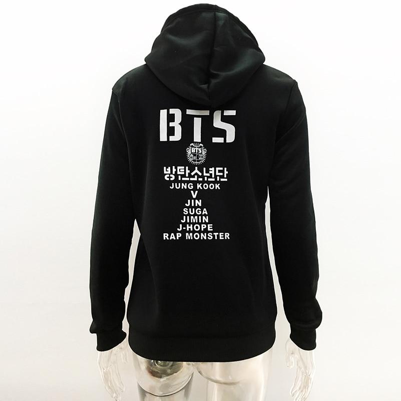 96ed6de5d19 2018 BTS Kpop Print Hoodies Women Sweatshirts Cute Plus Size Hooded Tops  Aesthetic Korean Female Autumn Winter Harajuku NEW  -in Hoodies    Sweatshirts from ...
