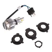 4000LM 34W H6 H4 COB LED Bulb Motorcycle Moto Headlight Fog Light Lamp Bright