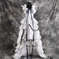 Animation Chobits Chii Cosplay Costumes White Tailed Cos Lolita Dresses Male Female S XL Or Custom