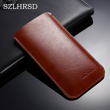 SZLHRSD super slim sleeve pouch cover, vintage microfiber stitch Phone bag case for Xiaomi Mi Max 2/ Mi Mix 2/Mi Max 3 Pro(China)