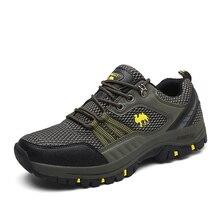 Ifrich Новые красивые дешевые Прогулочные кроссовки для Для мужчин открытый Кружево до Для мужчин S сетка Пеший Туризм Сапоги и ботинки для девочек дышащие Mountain обувь