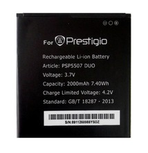 Prestigio PSP5507 DUO 2000mah High Quality Mobile Phone Replacement Li-ion Battery for