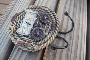 Image 2 - Địa Trung Hải Châu Âu Da Bò Cá Tính Sáng Tạo Liên Kết Với Mềm Gắn Móc Treo Áo Treo Tường Trang Trí