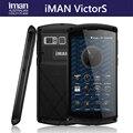 IMAN Виктор С IP67 Водонепроницаемый Телефон 2 ГБ 16 ГБ Отпечатков Пальцев 4500 мАч 5.0 дюймов 4 Г Смартфон MT6735 Quad Core Dual SIM Мобильный телефон