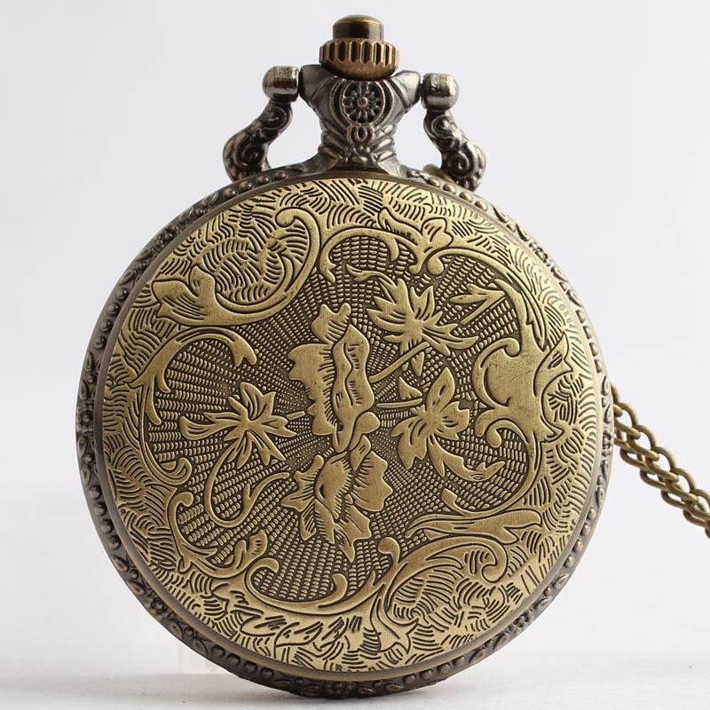 Retro-Bronze-United-State-Marine-Corps-Quartz-Pocket-Watch-Necklace-Pendant-Clock-Men-s-Women-Gifts