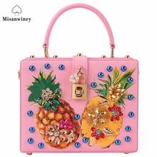 Misanwiney Women Leather Handbags Winter Style Women Bag sac a main femme Luxury Handbags Women Bags Designer Small Handbag 2017