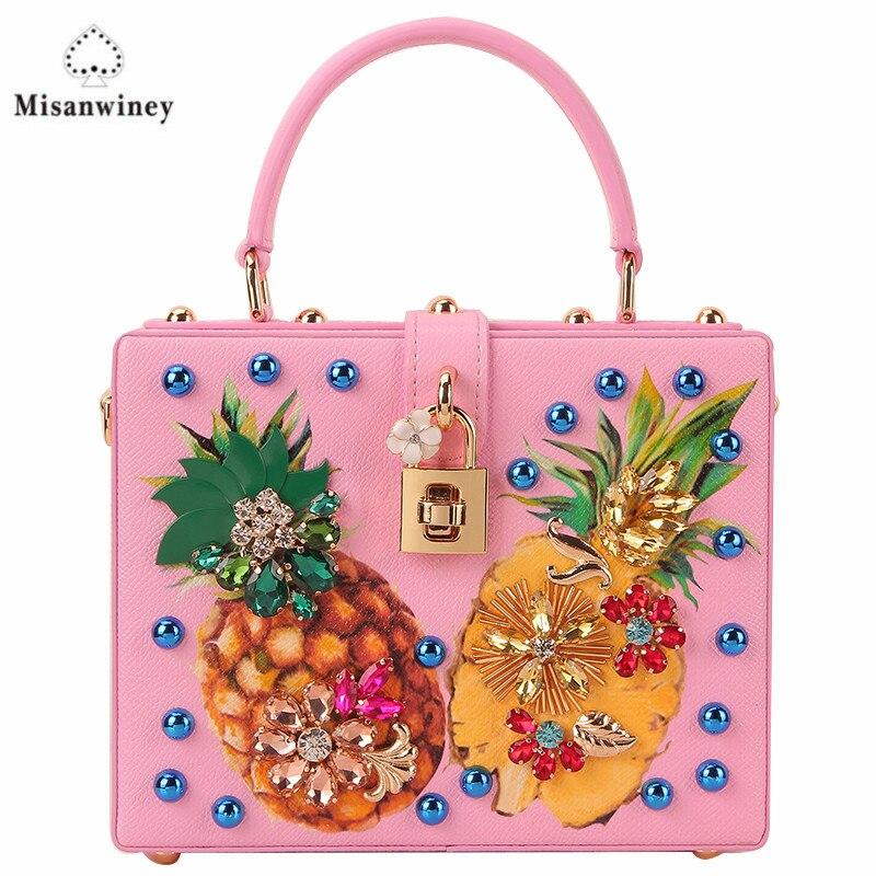 Misanwiney femmes en cuir sacs à main hiver Style femmes sac sac a main femme luxe sacs à main femmes sacs Designer petit sac à main 2017