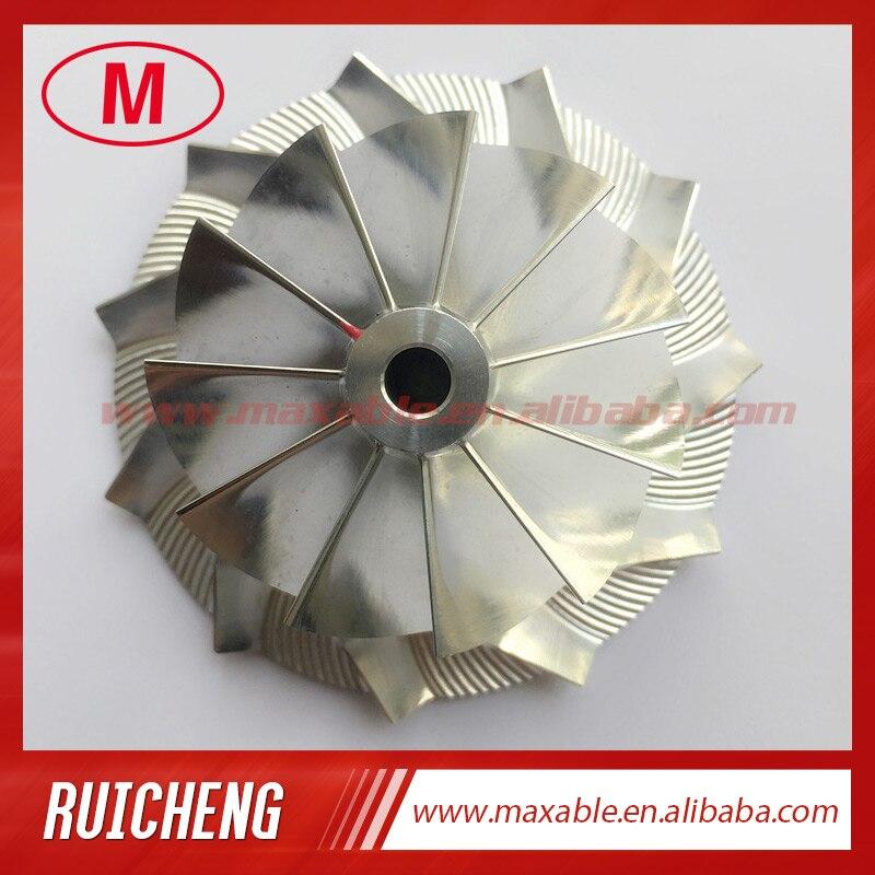 CT10V 17291-0L040 обновления 42,87/62,00 мм 11 + 0 лезвия turbo заготовка/фрезерный/алюминий 2618 Колесо компрессора для 17201-0L040 обновления