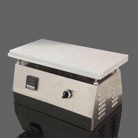 Manual transparent film sealing machine cigarette box hot film packing machine 500W 220V DSF4020