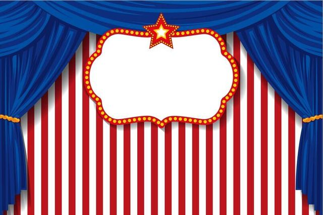 Aliexpress Com Buy 7x5ft Blue Curtain Drape Carnival