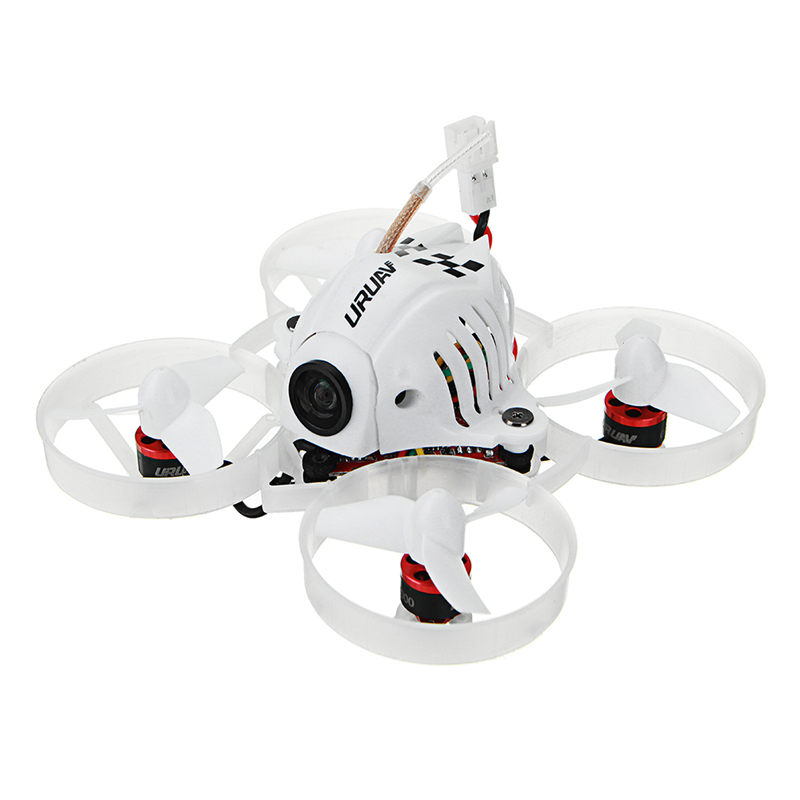 URUAV UR65 65mm FPV Racing Drone BNF Crazybee F3 Flight Controller OSD 5A Blheli_S ESC 5.8G 25mW VTX RC Quadcopter цена