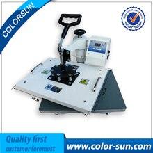 9 in 1 combo heat press machine for printing shoe/mug/plate/cap/glove/T-shirt