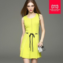 c821fe49aba Good quality 2017 spring women s was thin Hollow cut knit dress sleeveless  dress manufacturers outlet wholesale
