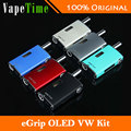 100% Original Joyetech eGrip OLED VW 20W Kit 1500mAh eGrip OLED VV/VW Mode Box MOD and 3.6ml Built-in Atomizer Tank e cigarette