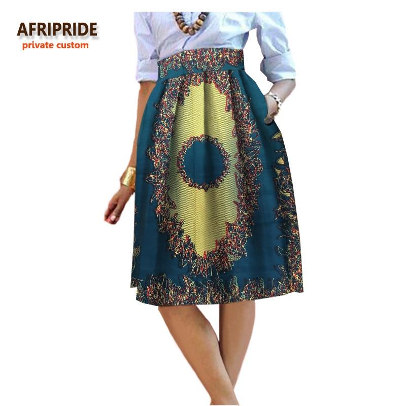 2017 ljeto originalni afrički stil odjeće midi suknja za žene - Nacionalna odjeća - Foto 3