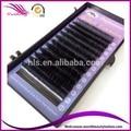 Nuevo tipo de elipse elíptica/plana extensión de pestañas 0.15x0.07mm, 0.20x0.07mm espesor J/B/C/D rizo 5 bandejas por lote de todos los tamaños