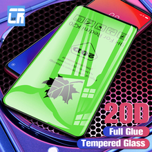 20D Curved Full Glue Screen Protector for Xiaomi Redmi K20 Pro Note 7 7A Tempered Glass 8 Lite 9 SE Protective Film