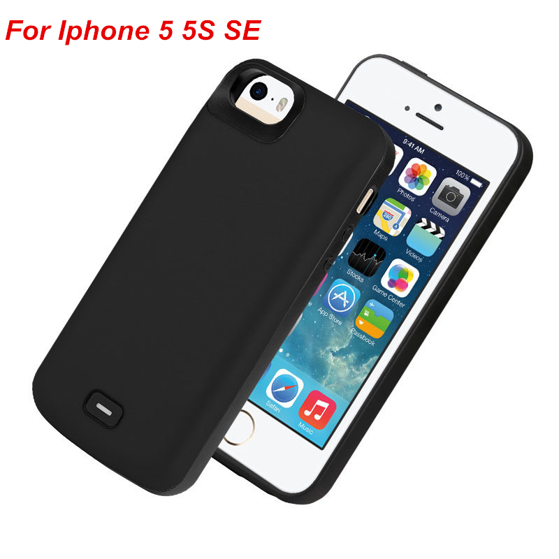 For Iphone 5 Battery Case 4000 Mah External Battery Charger Case Power Bank For iPhone 5 5S SE Battery CaseFor Iphone 5 Battery Case 4000 Mah External Battery Charger Case Power Bank For iPhone 5 5S SE Battery Case