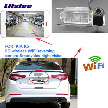 LiisLee wireless Reverse Camera For KIA Optima K5 KIA K5 2010~2015 New HD Wireless Car Rear View Camera Parking Assist фото