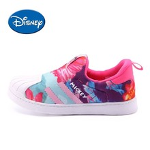 Disney Kids shoes Original New Arrival Breathable Sports Children Running Shoes Lightweight Sneakers #00007