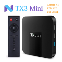 TANIX TX3 MINI Android 7 1 Smart TV BOX Amlogic S905W 4K Quad Core TV Box