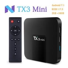 RUIJIE TX3 MINI Android 7 1 Smart TV BOX Amlogic S905W 4K Quad Core TV Box