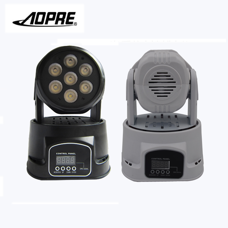 AOPRE RGBW Mixing Lighting Moving Head DMX 14CH Stage Lighting Effect 90W Led Wash Stage Light For Dj Disco Party Light 2RGBW-PD
