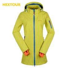 NEXTOUR outdoor Jacket Winter Women Softshell Medium Jacket Waterproof with fleece windbreaker trekking ski leisure tops