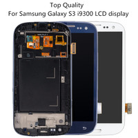 I9300 High Quality Display For Samsung Galaxy S3 I9300 Lcd Display Touch Screen With Digitizer Assembly